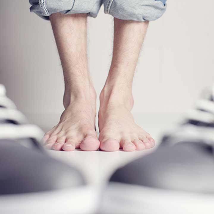 relaxamento dos pés