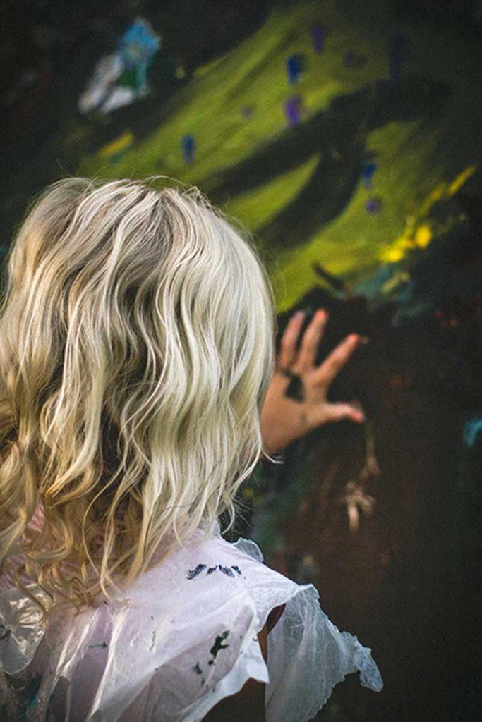 Reflexo de cabelo em Moema