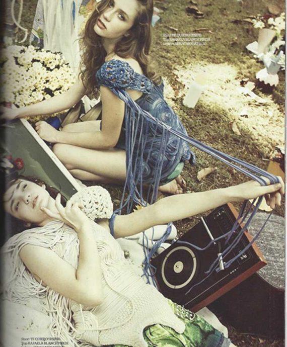 Editorial de moda e estilo